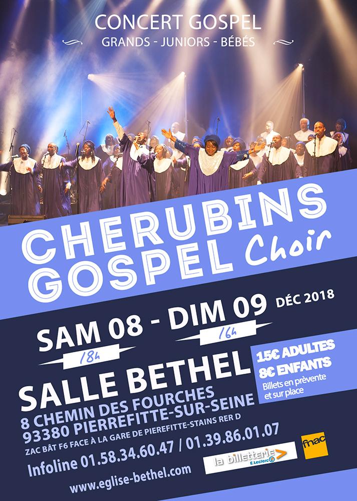 concert cherubins gospel choir